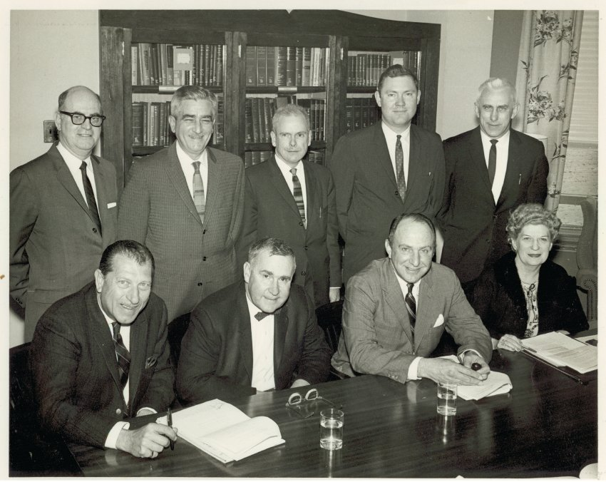 ca. 1965, possibly a COMSTAC committee meeting