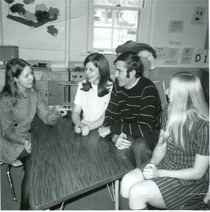 Linda and Mike Collins at Colorado School for the Deaf and Blind