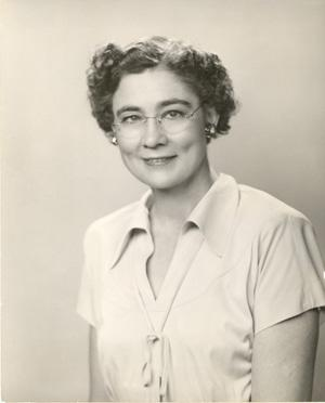 Portrait of Georgie Lee Abel 1952. Courtesy of the Archives of the American Foundation for the Blind