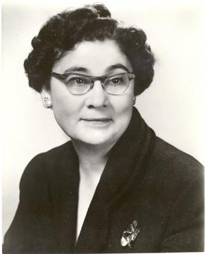 Portrait of Georgie Lee Abel 1960. Courtesy of the Archives of the American Foundation for the Blind