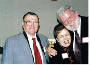Pete Wurzburger, Phil Hatlen, and Sally Mangold