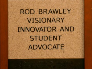 Rod Brawley Visionary, Innovator, and Student Advocate
