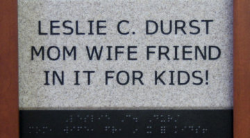 Leslie C. Durst Mom Wife Friend In It for the Kids!