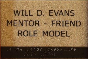 Will D. Evans Mentor - Friend - Role Model