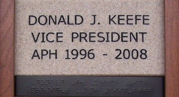 Donald J. Keefe Vice President APH 1996 - 2008