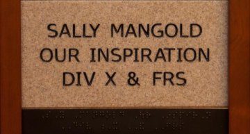 Sally Mangold Our Inspiration Div X & FRS