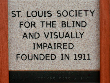 St Louis Society for the Blind and Visually Impaired Founded in 1911