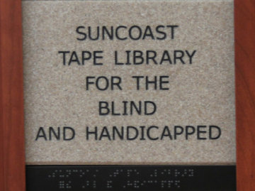 Suncoast Tape Library for the Blind and Handicapped