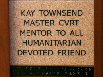 Kay Townsend Master CVRT Mentor to All Humanitarian Devoted Friend