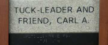 Tuck-Leader and Friend, Carl A.