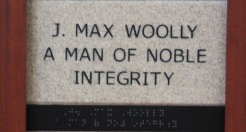J. Max Woolly A Man of Noble Integrity
