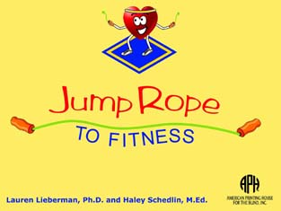 front cover of Jump Rope to Fitness manual