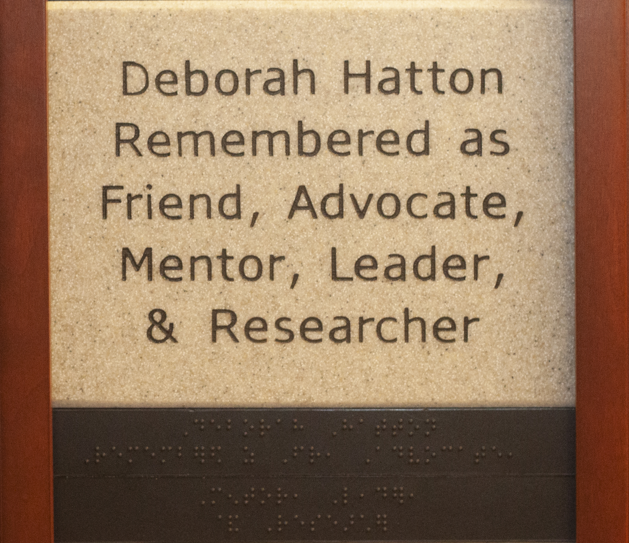 Deborah Hatton Remembered as Friend, Advocate, Mentor, Leader, & Researcher