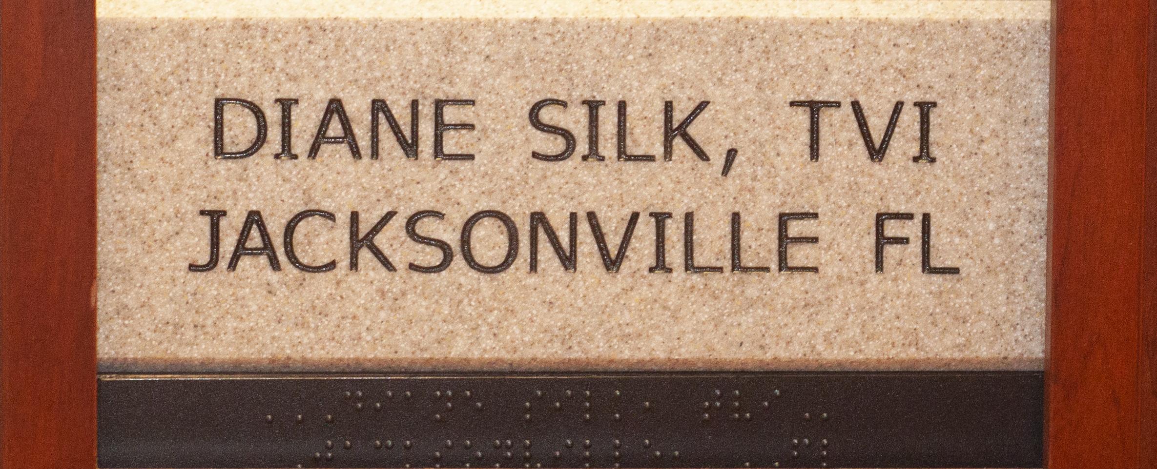 Diane Silk, TVI, Jacksonville FL