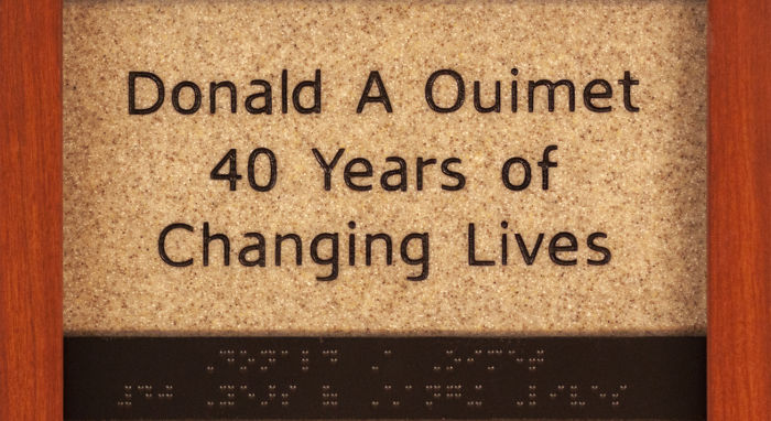 Donald A Ouimet 40 Years of Changing Lives