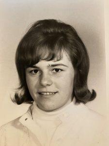 Ann MacCuspie in high school